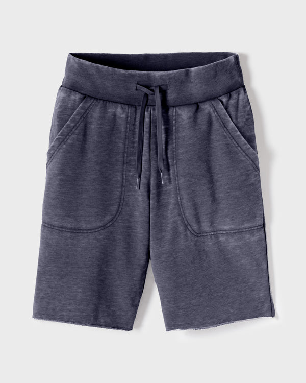 Worn-Textured Eco Vintage Comfort Shorts