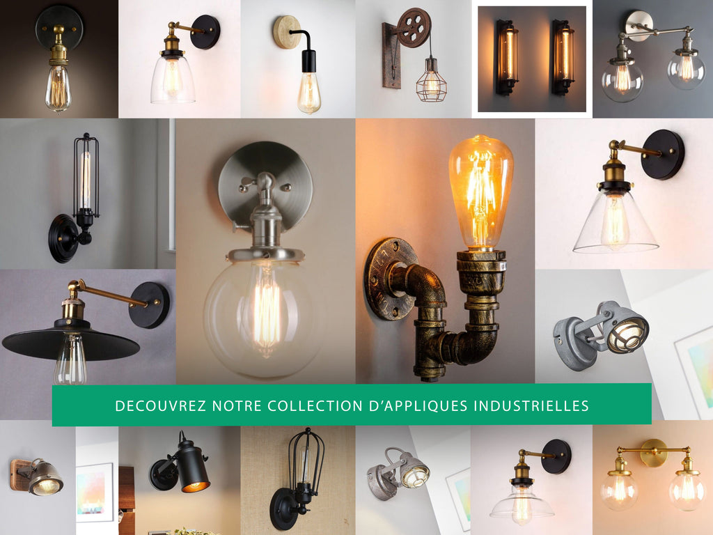 Collection Applique Murale industrielle