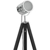 Lampadaire Cinema Industriel Black & Chrome