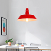Suspension Style Industrielle Rouge