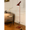 Lampadaire Industriel Design Rouge