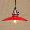 Suspension Industrielle Rouge