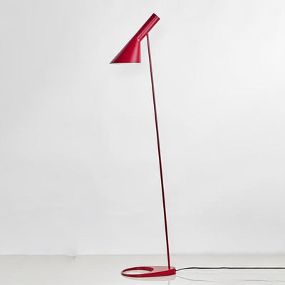 Lampadaire Design Industriel Rouge
