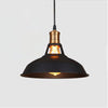 Suspension Industrielle Chic Noire