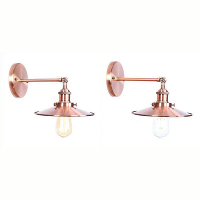 Applique Murale Industrielle Vintage - Rose Gold