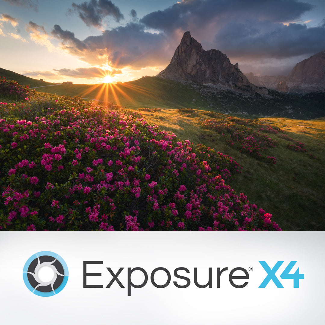 Exposure X4 Upgrade