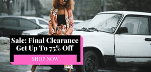 No Fashion Deadlines Sale