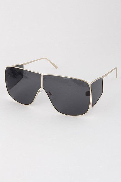 Tinted Aviators with Side Shades - No Fashion Deadlines