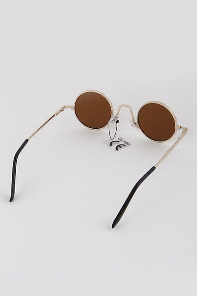 Classic Hipster Circle Sunglasses