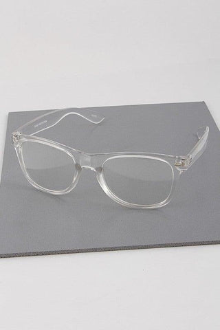 Clear Fashion Reader Glasses
