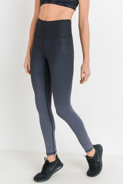 Highwaist Ombre Essential Leggings - No Fashion Deadlines