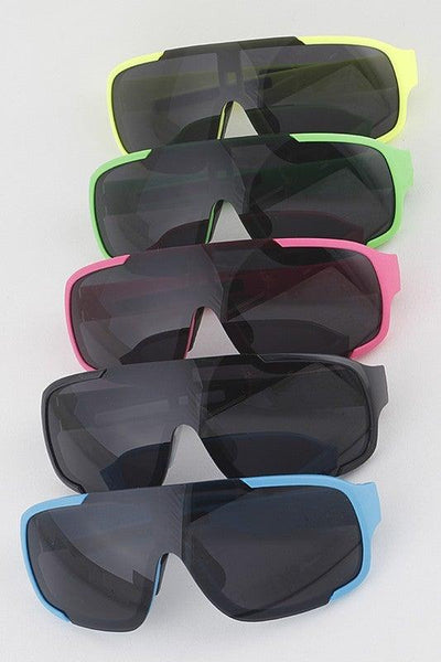Sporty Shield Sunglasses - No Fashion Deadlines