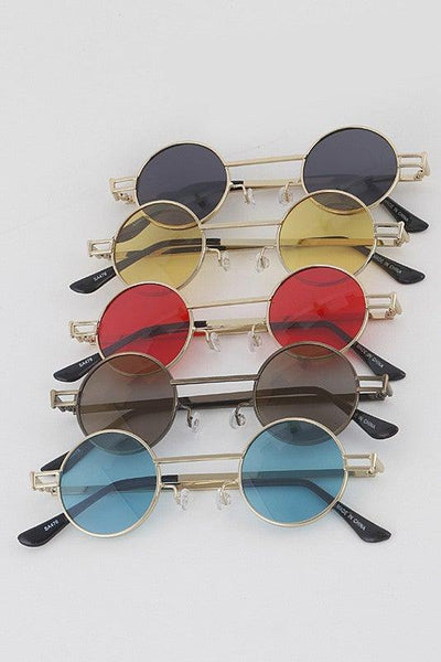 Small Round Retro Sunglasses - No Fashion Deadlines