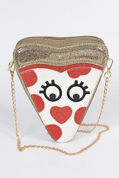 Pizza Slice Fun Clutch Purse - No Fashion Deadlines