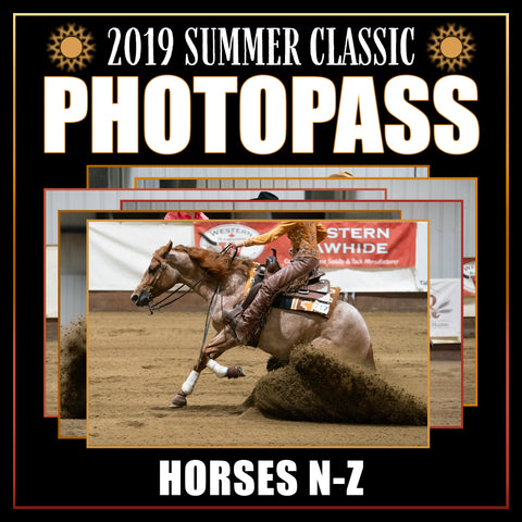 2019 Reining Alberta Summer Classic Photo Pass | Horses N-Z