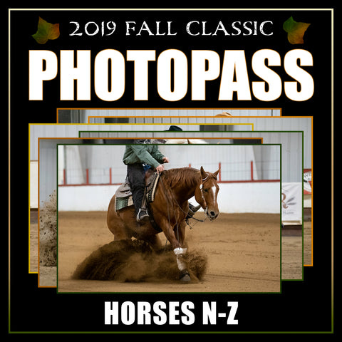 2019 Reining Alberta Fall Classic Photo Pass | Horses N-Z