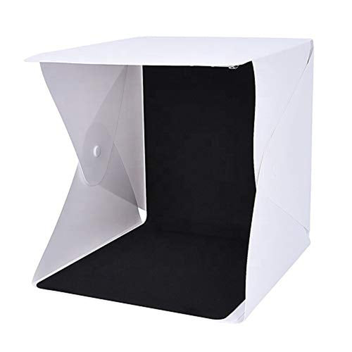 Mini Portable Professional Photo Light Booth Product Photography Booth Studio with 4 LED Strips – 40x40x40 cm - Made in India