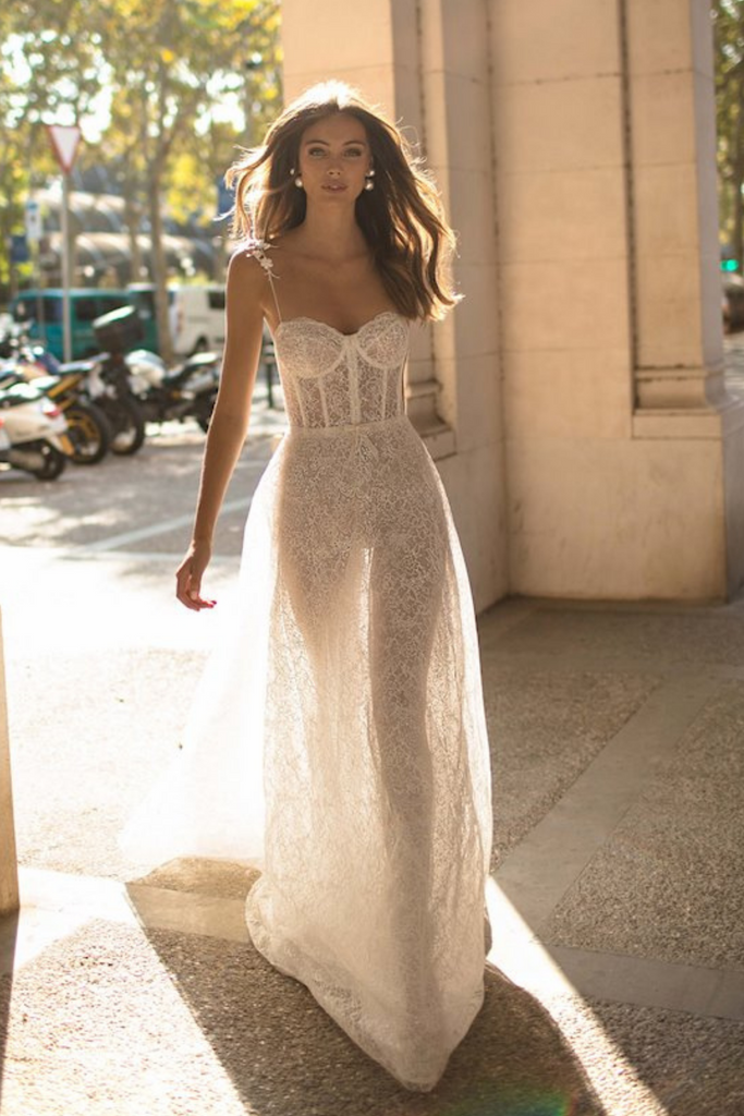 Model Wearing Muse by Berta Dominique