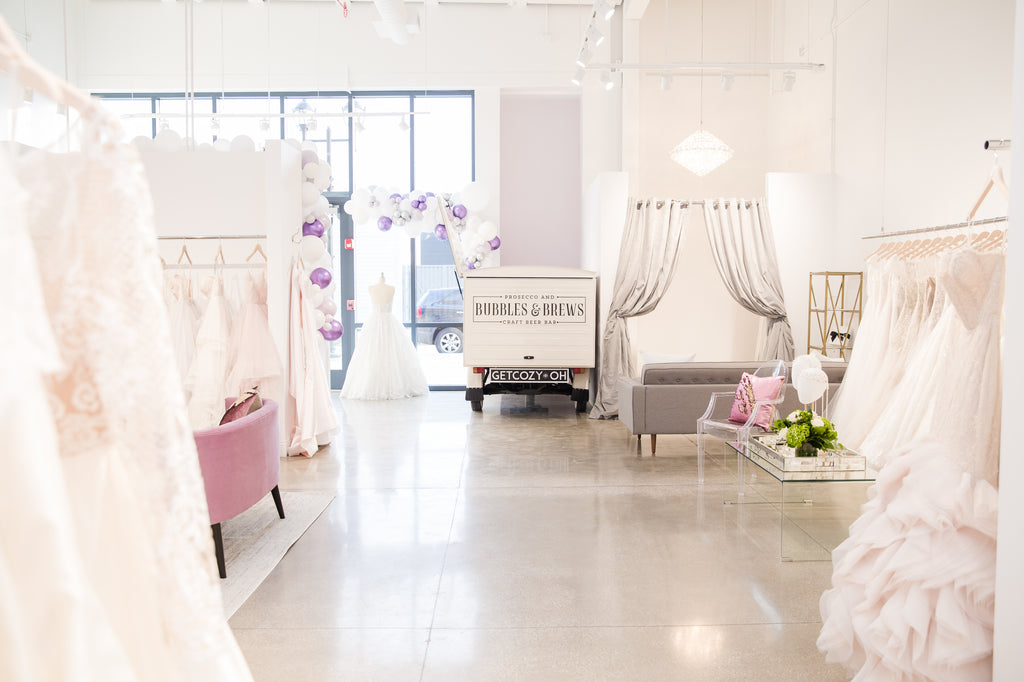 Cleveland bridal boutique grand opening