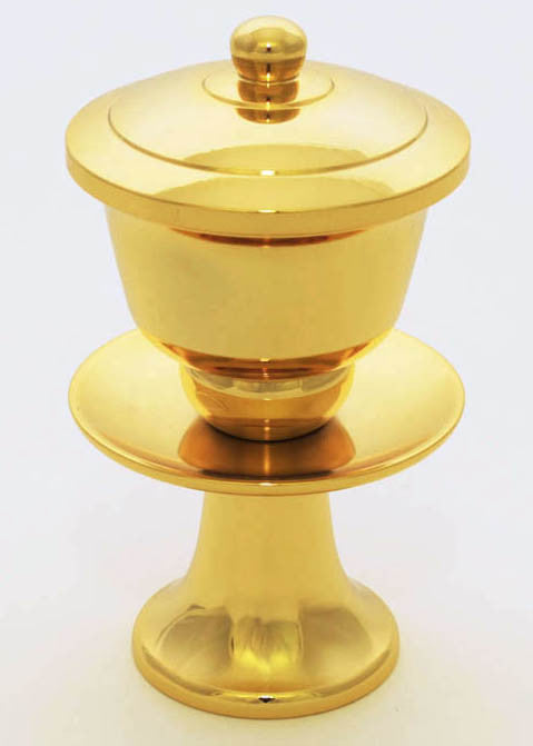 24K Gold Plated Water Cup with Removable Metal Insert