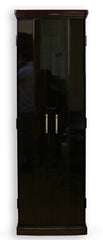 Premium 5123 Ebony Automatic Doors Butsudan with Pull Out Table