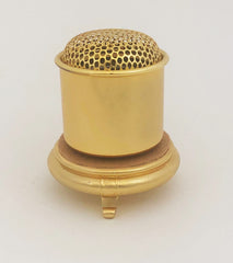 Medium 24K Plated Powdered Incense Burner (Display Model)
