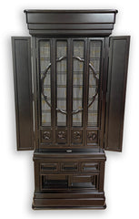5502 Premium Ebony Butsudan with Shoji Screen Doors (Display Model)