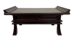 #26 Premium Red Sandalwood Kyo Table with Drawers