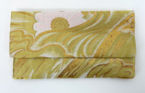 Silk Kimono Fabric Beads Case (Large)