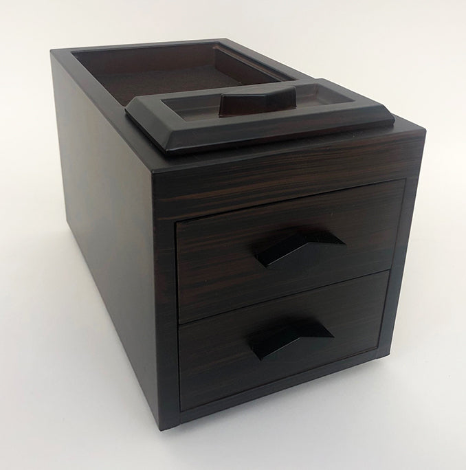 Ebony Incense Storage Box