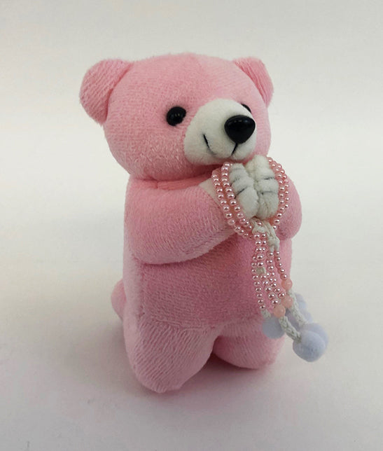 Medium Pink Praying Bear