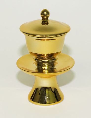 Medium Gold Water Cup