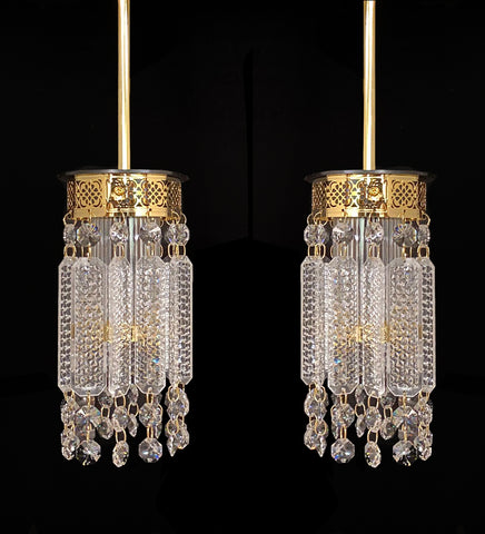 Crystal Hanging Lanterns