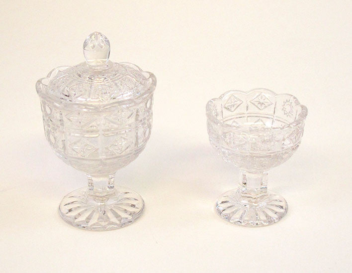 Crystal Water & Rice Cup Set