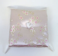 "Pink Sakura Square Cushion for No. 6 (7.75"" Diameter) Bell"