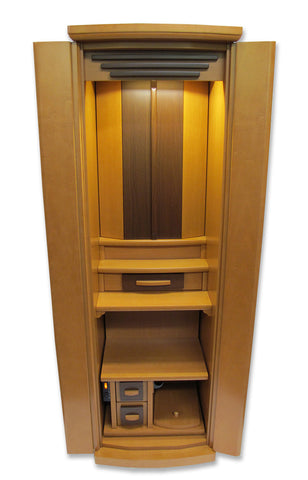5120 Two-Tone Maple color Butsudan (Automatic Inner Doors)