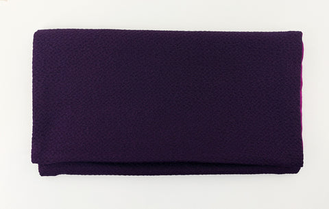Purple Kimono Fabric Beads Case (Large)