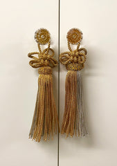 Used Gold & Silver Tassel for Butsudan Handles #2
