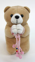 Medium Brown Praying Bear