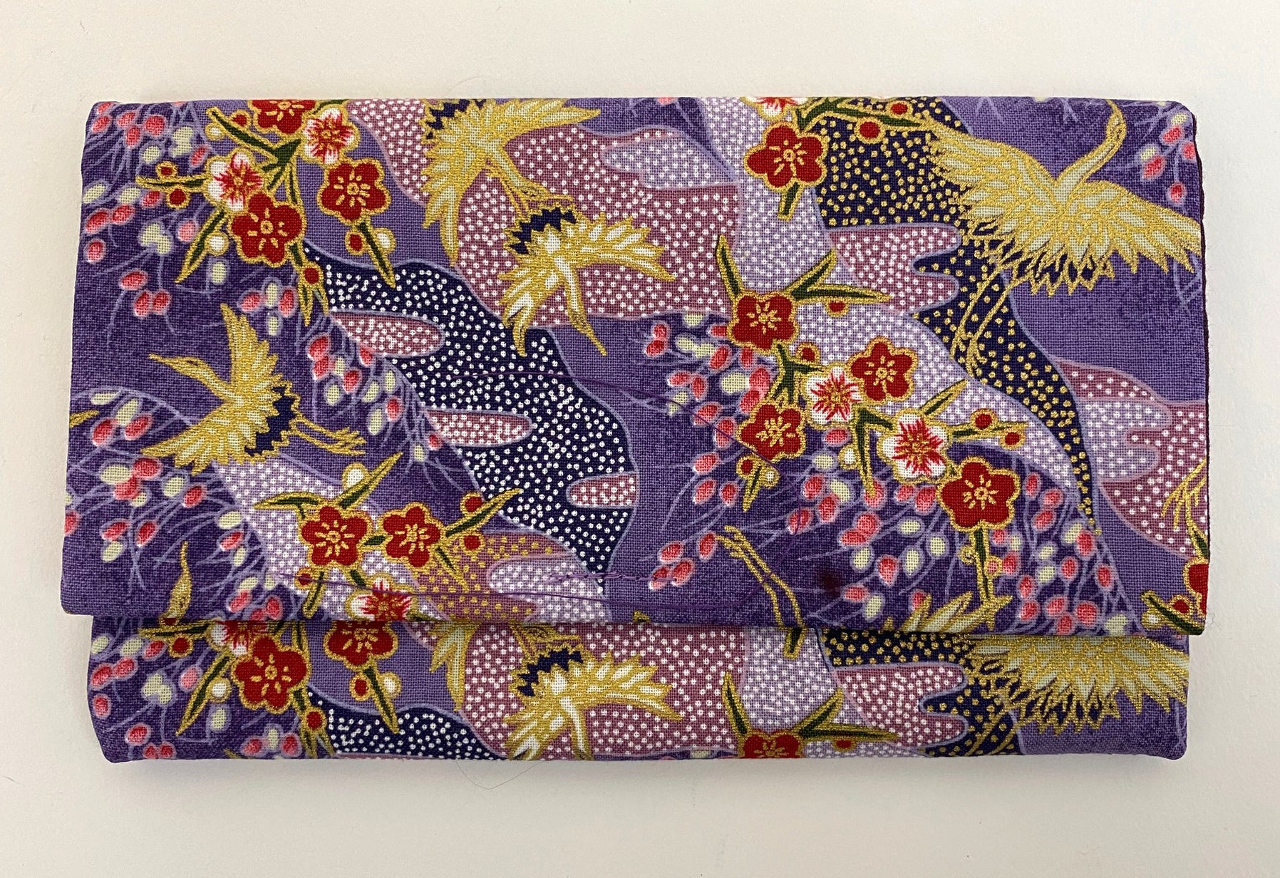 Premium Kimono Fabric Beads Case #2 (Medium)