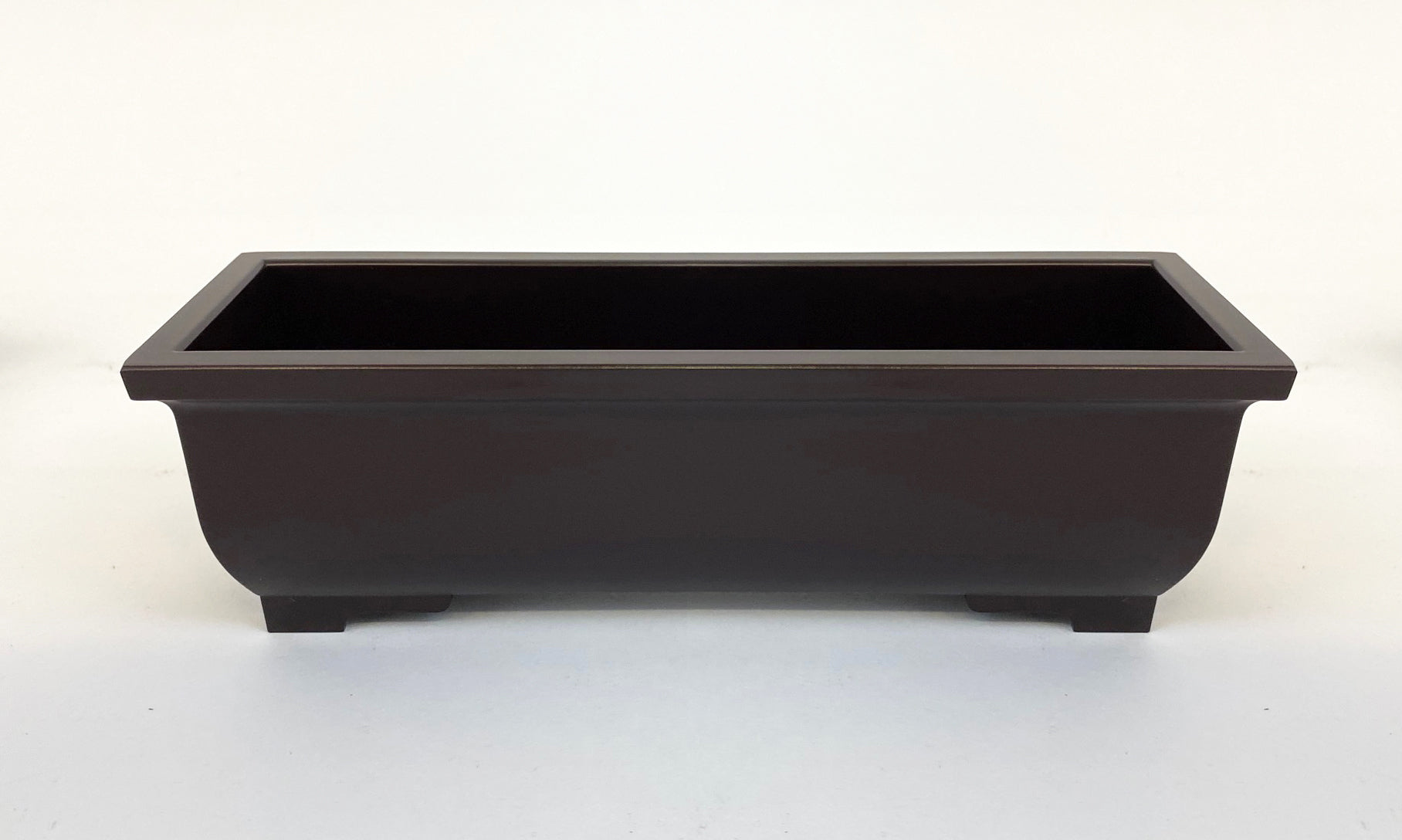 "7.2"" Long Dark Burgundy / Cherry Basic Incense Burner"