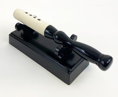 "Black Ebony Medium Bell Stick Holder for (7"" -  9.75"" Long) Bell Stick"