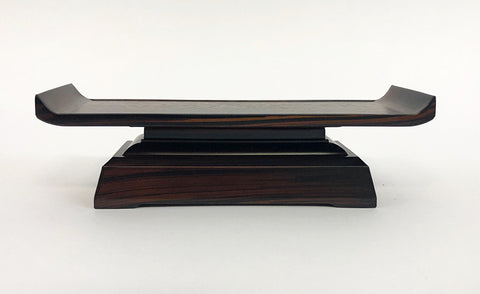"8.8"" L Ebony Water Cup Table (Display Model)"