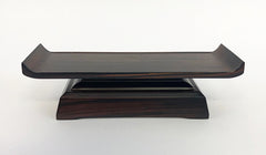 "8.8"" L Ebony Water Cup Table"