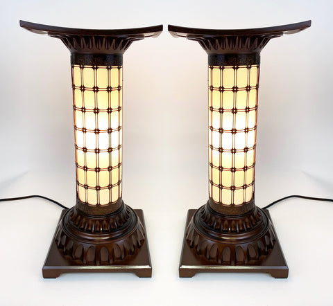 Copper Standing Lanterns