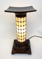 Large Copper Standing Lanterns
