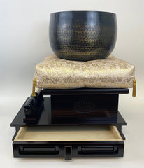 "Ebony Wooden Base for No. 9 (10.5"" Diameter) Bell"