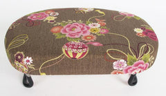 Used Petite/Asian-size Folding Bench (Brown with Floral Print)