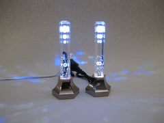 "Replacement lights for Premium 7.25"" Tall Dual Colored (Blue or Orange) LED Candlesticks"