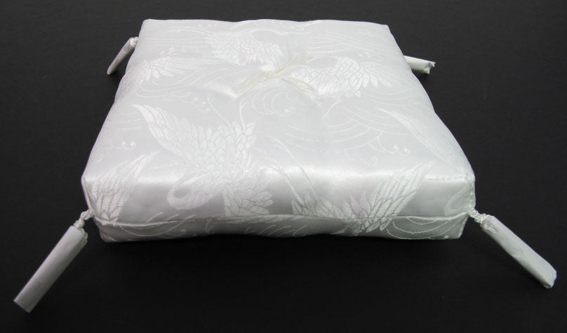 "White Square Cushion for No. 6 (7.75"" Diameter) Bell"
